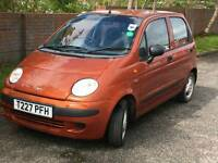 Daewoo matiz (low mileage) for sale