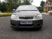 TOYOTA COROLLA T3 D4D TURBO DIESEL ONE LADY OWNER FROM NEW 2004