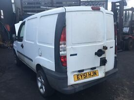 2001 FIAT DOBLO CARGO 1.9D (MANUAL DIESEL)- FOR PARTS ONLY