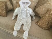 BABY SNOWSUIT DESIGNER LABEL NEW