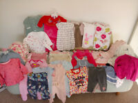 baby girl 0-3 months bundle next