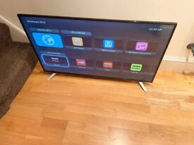 """SHARP 43"""" FULL HD SMART TV, EXCELLENT CONDITION FULL WORKING ORDER £200 NO OFFERS CAN DELIVER"""