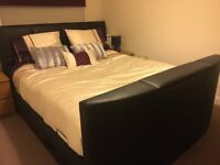 Super kingsize TV Bed