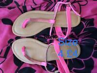 Ladies primark sandals