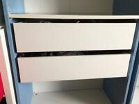 Two Ikea Pax Komplement drawers