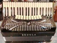 Classic Sonola SS20 Double Cassotto Pro Jazz Accordion