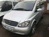 2005 54reg Mercedes Viano 2.1 Turbo diesel Ambiante Silver 7 Seater Automatic
