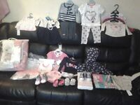 Baby clothes and shoes Brand new 6 to 9 months
