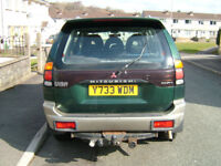 shogun sport 3.0v6 for spares or repair still 4months mot on the road 2nd gear problem therwise ok