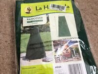 Delux Large chimenea Rainproof cover , brand new still in packing