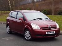 *54 REG TOYOTA VERSO 1.8 PETROL.7 SEATER LONG MOT TAXED.140K SERVICE HISTORY GOOD RUNNER PX WELCOME*