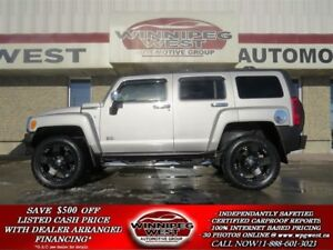 2007 Hummer H3 4X4, LEATHER, SUNROOF, BIG LOOKS!!