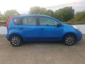 Nissan Note 2008 1.4 Full years Mot