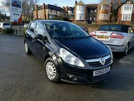 2010 60 VAUXHALL CORSA 1.2 S MANUAL 5 DOOR BLACK F.S.H 1 OWNER HPI CLEAR