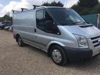 Ford transit silver 2.2 tdci 260 s low roof swb- 2009 - part exchange welcome 12 months mot