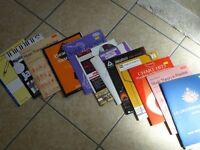 Various music books for Alto Sax