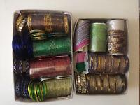 Indian/Pakistani bangles/bracelets.