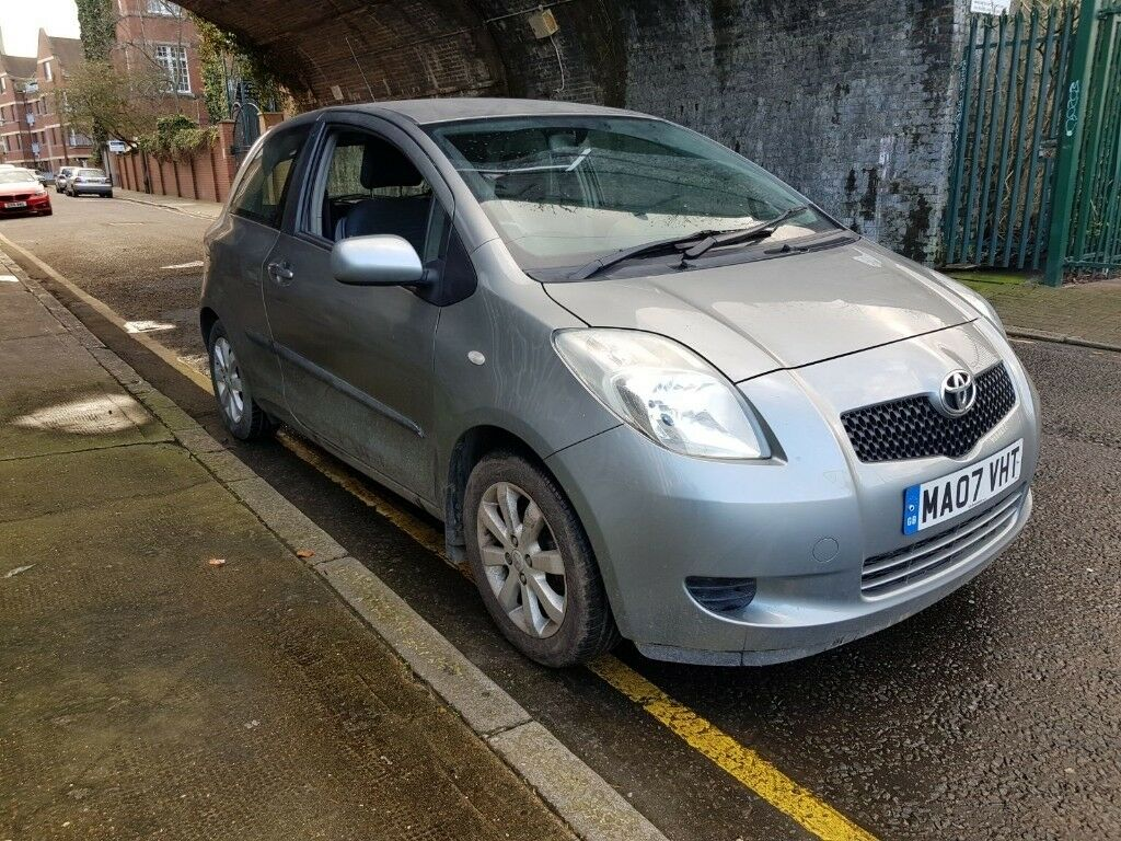 Toyota Yaris For Sale >> Toyota Yaris Auto Petrol 2007 Silver For Sale In Limehouse