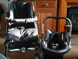 Silver Cross 3D Circles 3 in 1 complete Pram