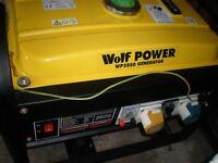 Wolf Generator 110/240 volt