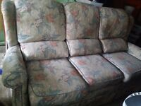 Free 3 seater recliner sofa for collection