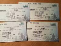 4 X Standing DRAKE Tickets 26/1/17 - Glasgow SSE HYDRO - Boy Meets World