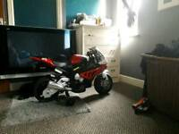 Kids ride on BMW officially licenced motorbike s1000rr replica