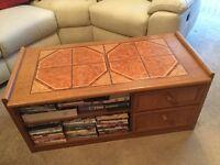 Vintage/Retro Schreiber Tiled Coffee Table