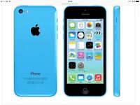 iPhone 5c 8gb good condition unlocked and reset to factory settings.