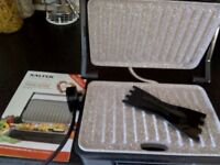 Salter panini maker and grill