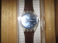 SWATCH MEN WATCH,BRAND NEW IN BOX,NEVER USE