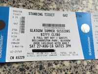 Biffy & Fall Out Boy - Glasgow Summer Sessions - 27 August