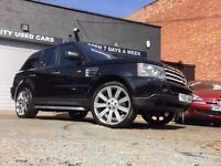 Rangerover SPORT 4.2 SUPERCHARGED LPG GAS CONVERTED. 2005 55 PLATE AUTOMATC