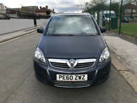2010 low millage vauxhall zafira 1.6 petrol nice 7 seater family car