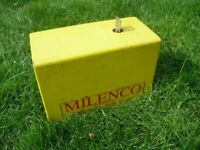Trailer / Caravan Tow Hitch Lock by Milenco with Key ~Working~