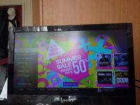 """Sony Bravia 22"""" HD LCD TV LED + Table"""