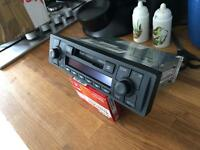 Audi TT Radio Tape Cassette Player with code Stereo Head Unit 98-06 VGC