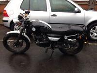 Lexmoto valiant cafe racer 125cc motorcycle