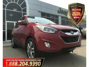 2014 Hyundai Tucson Limited| AWD| Leather| Sunroof| Remote Start