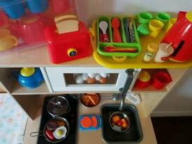 Ikea Kids Kithchen With Utensils And Food