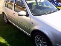 VW GOLF GT TDI 150 2002 SPARES OR REPAIR