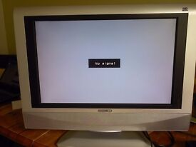 ACOUSTIC SOLUTIONS 19 INCH LCD TELEVISION , HD READY MODEL ,No 3619WS--HDMI, FOR SPARES OR REPAIR
