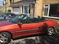 PEUGEOT 306 Convertible Egyptian Red