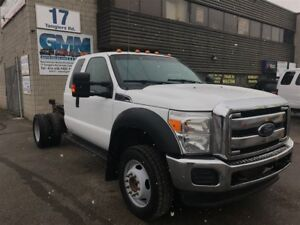 2013 Ford F-450 XLT Extended Cab Cabin Chassis 4X4 Gas
