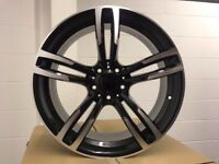 4 x 20 inch Alloy Wheels in the style of BMW to fit BMW VW Transporter