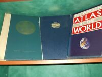 World atlas x 3