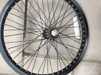 BMX wheels and tyres