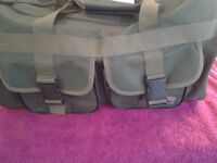 Crane Men/Boys Canvas Travel Gym Sports Shoulder Luggage Bag-Proceeds To Local Charity Group