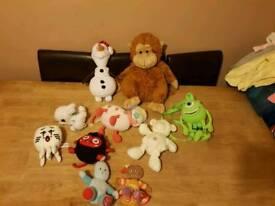 Soft Toy Bundle £3 each