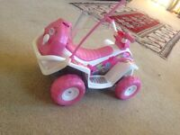 baby borne remote control quad bike for a doll